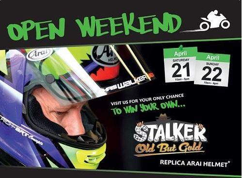 CHRIS WALKER KAWASAKI'S OPEN WEEKEND