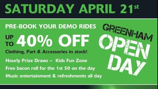 Greenham Kawasaki Open Day