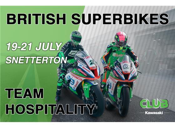 BSB Snetterton VIP Hospitality