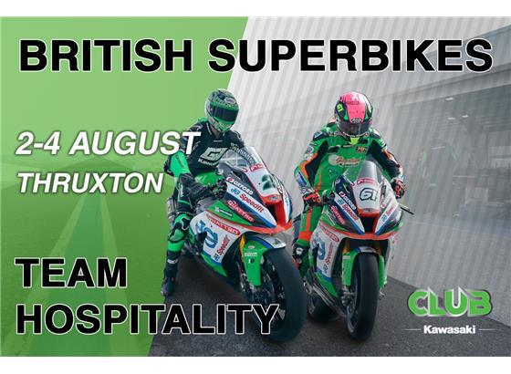 BSB Thruxton VIP Hospitality