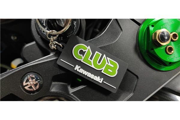 Club Kawasaki Keyring - Image 1