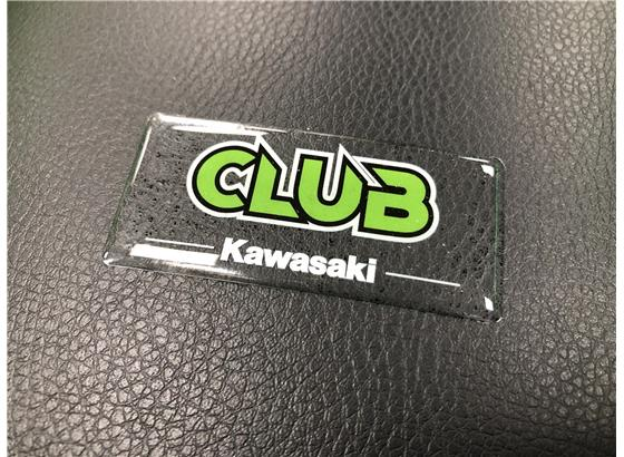 Club Kawasaki Stickers (x2)