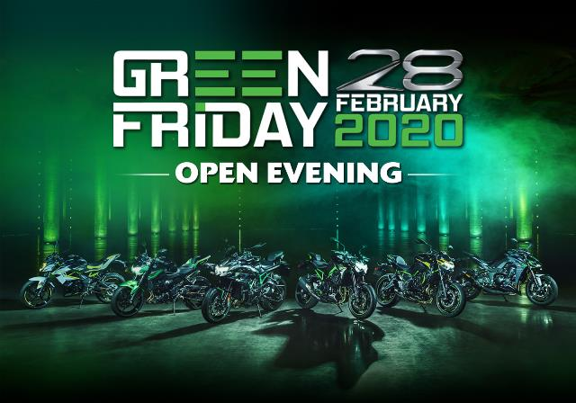 GREEN FRIDAY OPEN EVENING