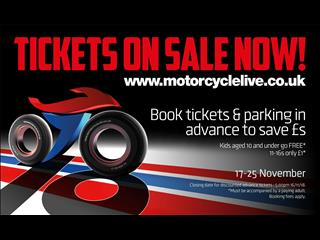 Motorcycle Live 2018 tickets on sale now
