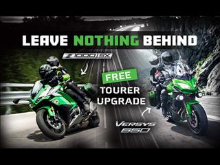 Leave Nothing Behind - Versys 650 & Z1000SX