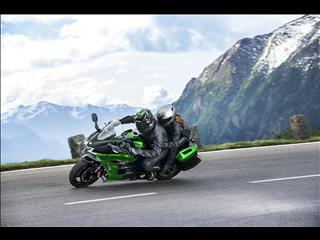 Complimentary panniers on Versys 1000 and Ninja H2 SX range