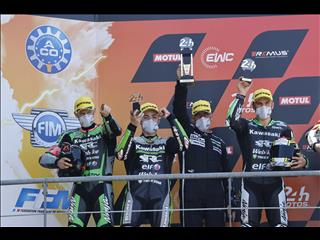 Kawasaki second place at Le Mans 24 Hours